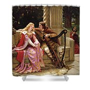 Tristan And Isolde Shower Curtain
