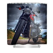 Triumph Bonneville  Shower Curtain