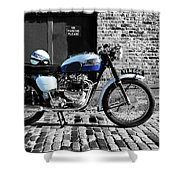 Triumph Bonneville T120 Shower Curtain