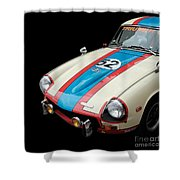 Triumph Gt6 Shower Curtain