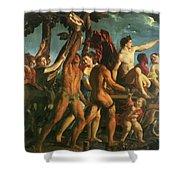 Triumph Of Bacchus 1514 Shower Curtain