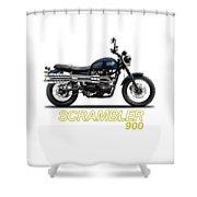 Triumph Scrambler 900 Shower Curtain