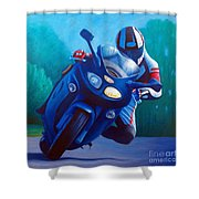 Triumph Sprint - Franklin Canyon  Shower Curtain