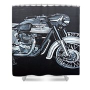 Triumph Thunderbird Shower Curtain