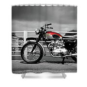 Triumph Trophy Tr6 1962 Shower Curtain