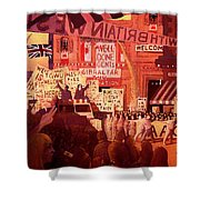Triumphal Welcome Shower Curtain