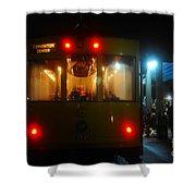 Trolley Car Shower Curtain