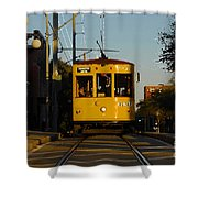Trolley Ride Shower Curtain