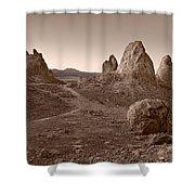 Trona Landscape Shower Curtain
