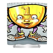 Trophy Shower Curtain