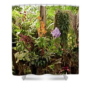 Tropic Beauty Shower Curtain