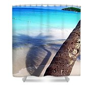 Tropic Shadows Shower Curtain