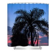 Tropic Sunset In Floirida Shower Curtain