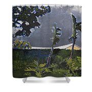 Tropic Wind Shower Curtain