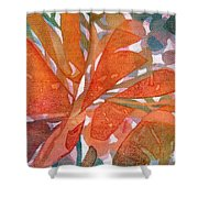 Tropical #5 Shower Curtain