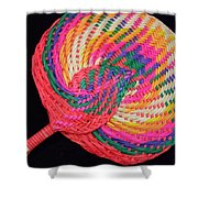 Tropical Air Conditioner Shower Curtain