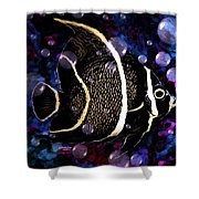 Tropical Angel Fish Shower Curtain