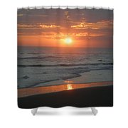 Tropical Bali Sunset Shower Curtain