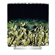 Tropical Coral Reef 1 Shower Curtain by Lanjee Chee