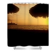 Tropical Cruise Shower Curtain