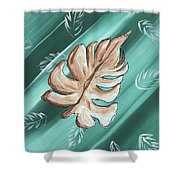 Tropical Dance 1 By Madart Shower Curtain