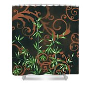 Tropical Dance 2 By Madart Shower Curtain