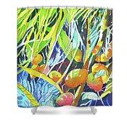 Tropical Design 1 Shower Curtain