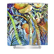 Tropical Design 2 Shower Curtain