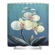 Tropical Elegance 2 Shower Curtain