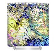 Tropical Essence Shower Curtain