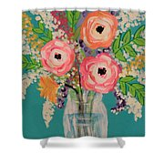 Tropical Flair Shower Curtain