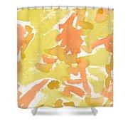 Tropical Fruit Shower Curtain