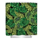 Tropical Haven 2 Shower Curtain