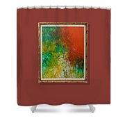 Tropical In Color  Shower Curtain