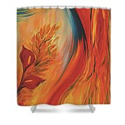 Tropical Lilies Shower Curtain