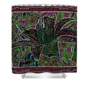 Tropical Lily 3 Shower Curtain