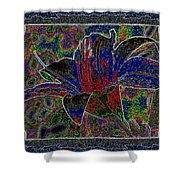 Tropical Lily 5 Shower Curtain