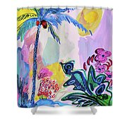 Tropical Moods Shower Curtain