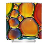 Tropical Oil And Water II Shower Curtain