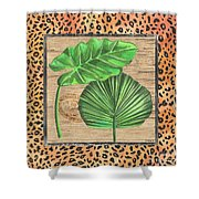 Tropical Palms 1 Shower Curtain