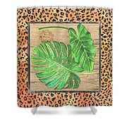 Tropical Palms 2 Shower Curtain