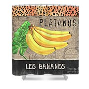 Tropical Palms 4 Shower Curtain
