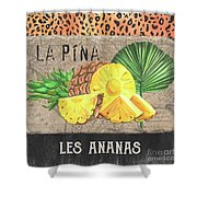 Tropical Palms 5 Shower Curtain