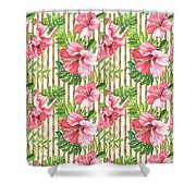 Tropical Paradise-jp3964 Shower Curtain