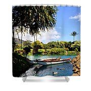 Tropical Plantation - Maui Shower Curtain