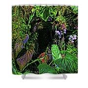 Tropical Rainforest Shower Curtain