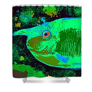 Tropical Reef Fun Shower Curtain