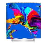 Tropical Sea Daydreaming Shower Curtain