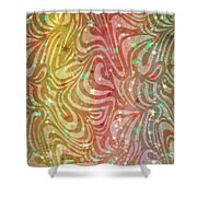 Tropical Sea With Stars Shower Curtain