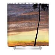 Tropical Silhouette Shower Curtain